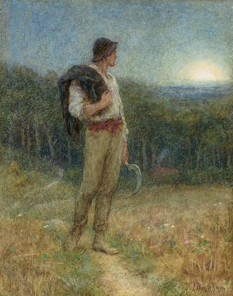 Harvest Moon by Helen Allingham