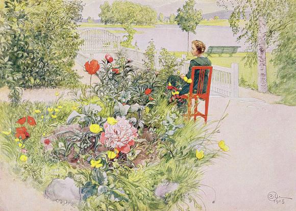 Summer in Sundborn by Carl Larsson
