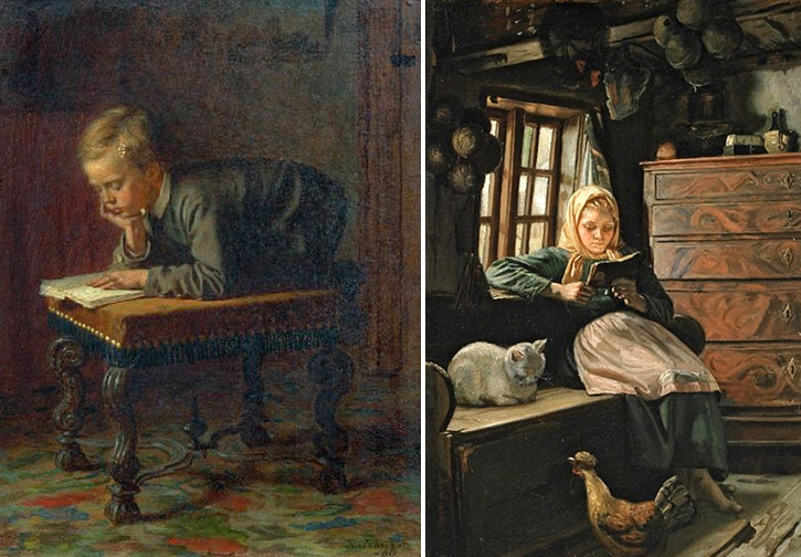 Eastman Johnson &Michael Peter Ancher