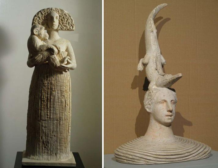 Sculptures by Girolamo Ciulla