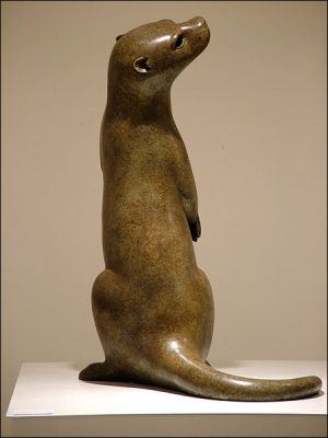 Otter Sculpture by Ian Edwards