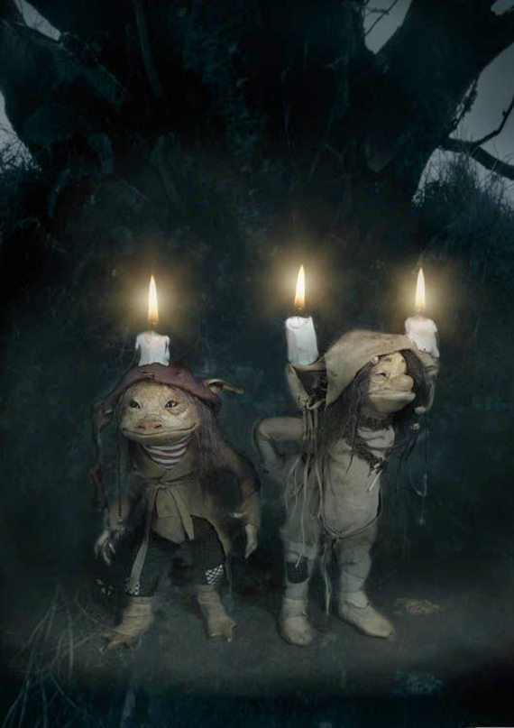 Candle Trolls by Wendy Froud