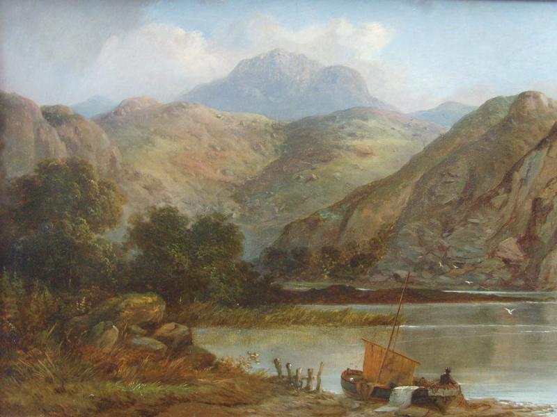 Head of Loch Lomond by Barbara Leigh Smith Bodichon