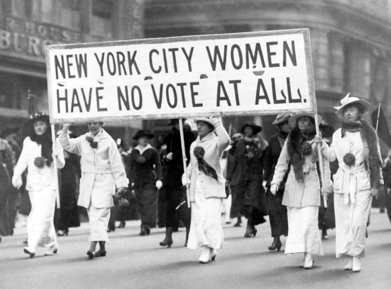 Suffragists in New York City