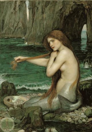 Mermaid by John William Waterhouse