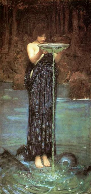 Circe Invidiosa by John William Waterhouse