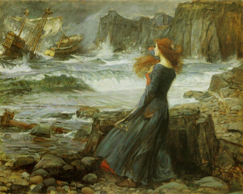 Miranda by John William Waterhouse