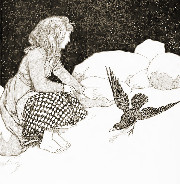The Snow Queen illustrated by W. Heath Robinson