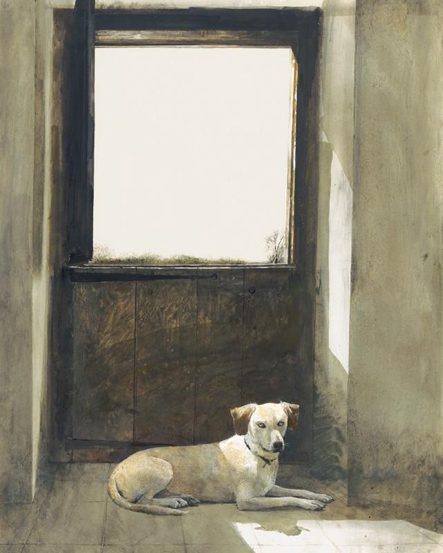 Watch Dog by Andrew Wyeth