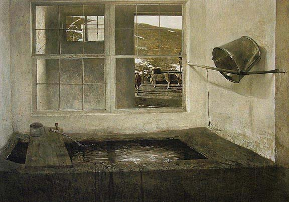 Spring Fed by Andrew Wyeth