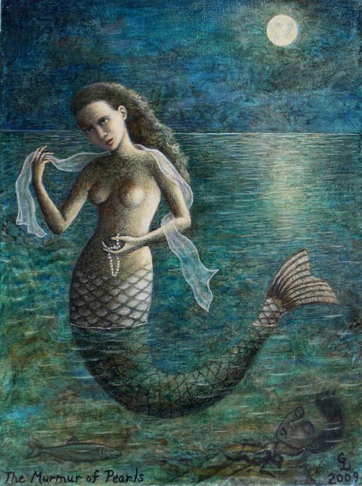 Murmur of Pearls by Gina Litherland