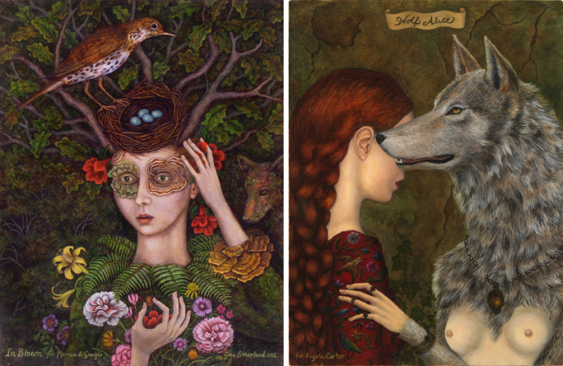 In Bloom & Wolf Alice by Gina Litherland