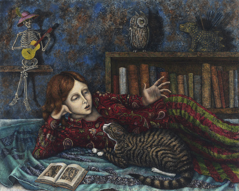 Conversation with a Cat by Gina Litherland