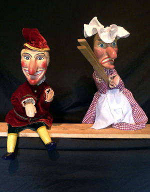 Punch & Judy performed by Howard Gayton