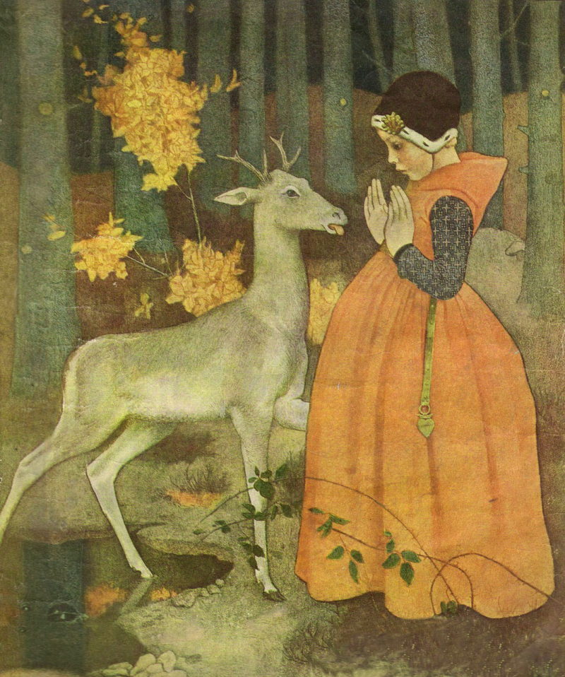 Brother & Sister by Marianne Stokes
