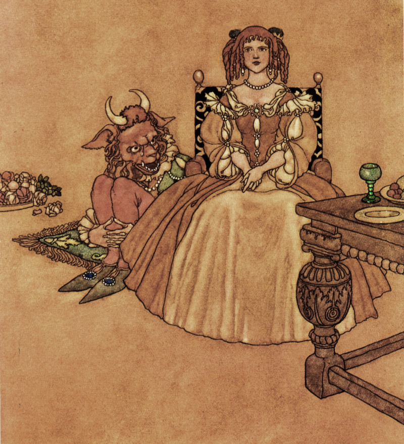 Beauty and the Beast by Charles Robinson