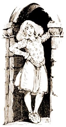 Fairy tale illustration by Helen Stratton