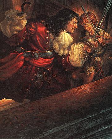 Captain Hook & Peter by Scott Gustavson