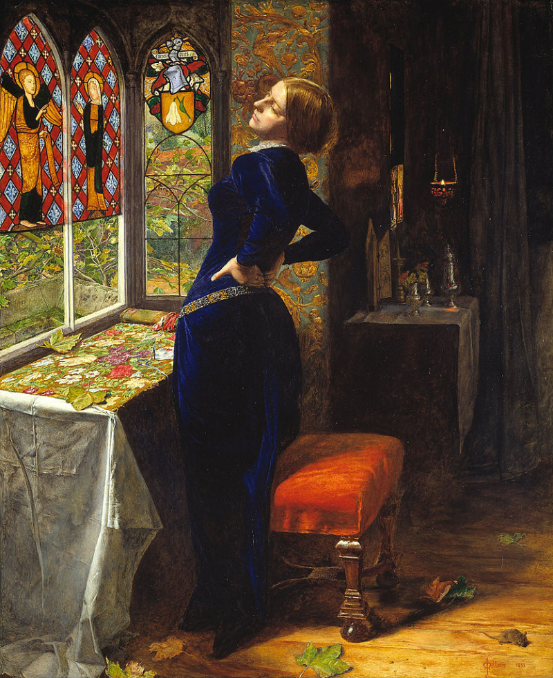 Mariana by John Everett Millais