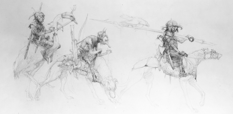 Faeries by Alan Lee