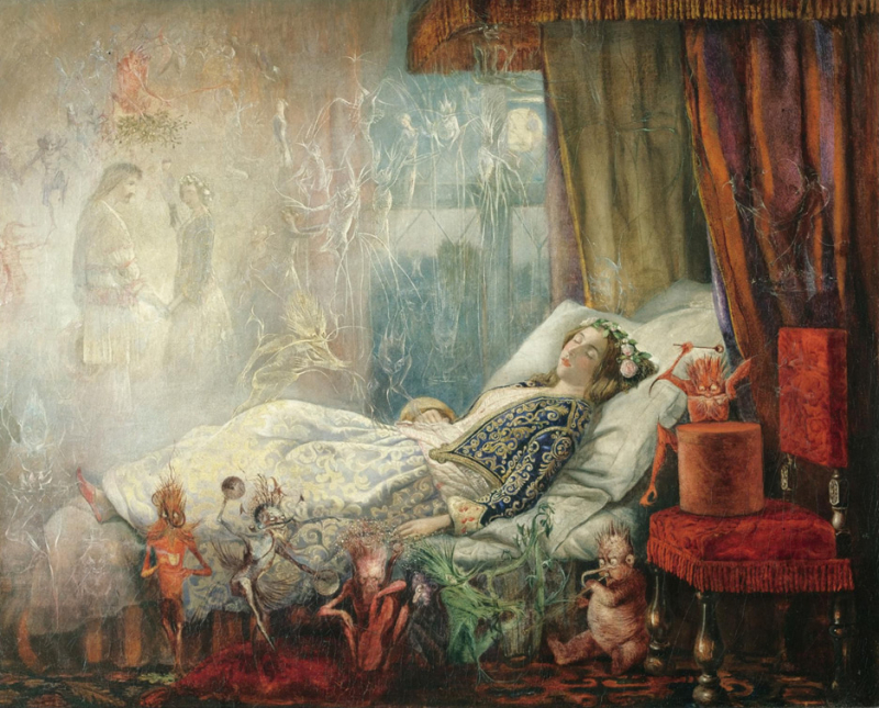 The Stuff That Dreams Are Made Of by John Anster Fitzgerald