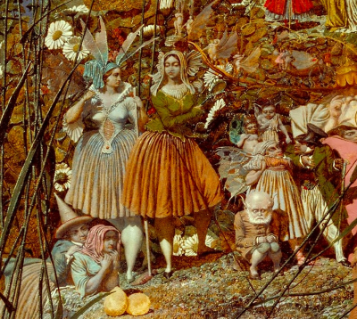Detail from The Fairy Feller's Master Stroke by Richard Dadd