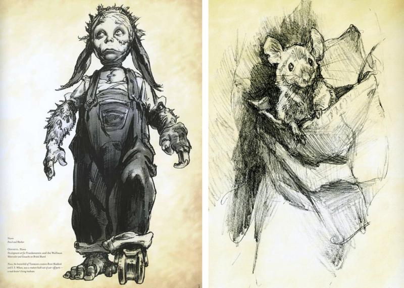 Sketches by Iain McCaig
