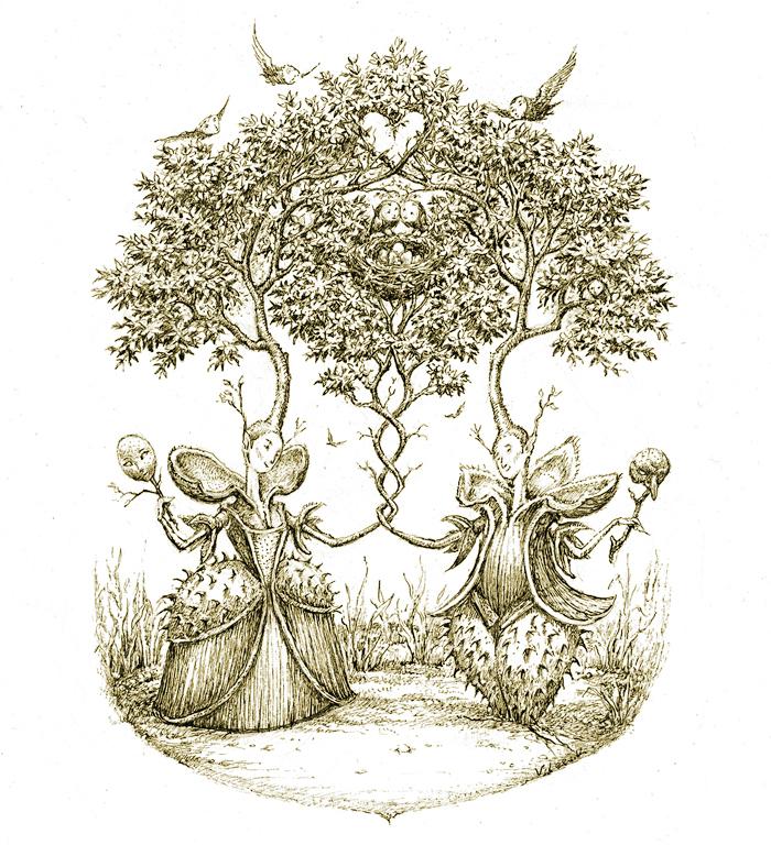 Chestnut Nuptials by Virginia Lee