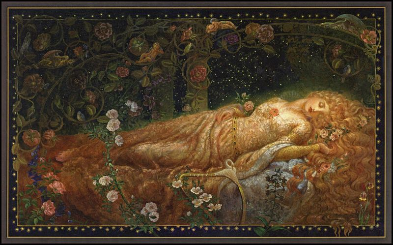 Sleeping Beauty by Kinuko Y. Craft