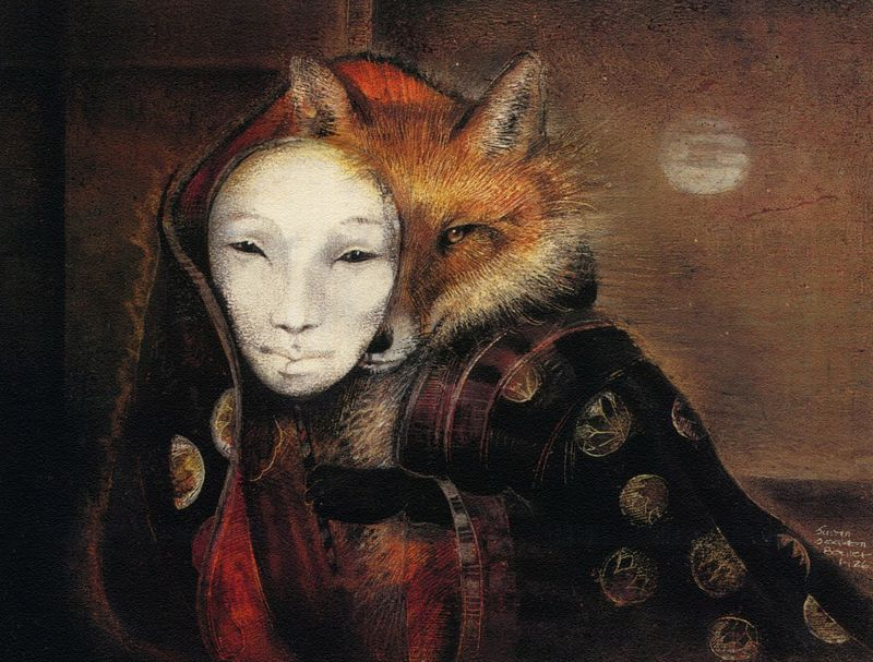 Fox Maiden by Susan Seddon Boulet
