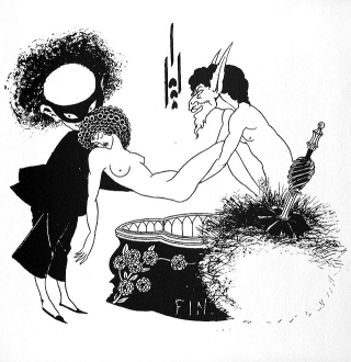 From Aubrey Beardsley's illustrations for Salome