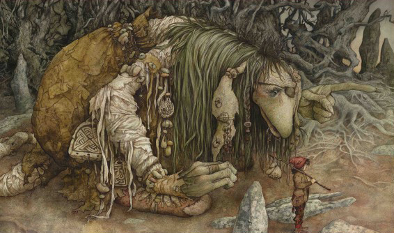 Go West by Brian Froud