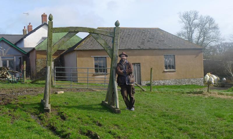 Tom Hirons at Lowton Farm