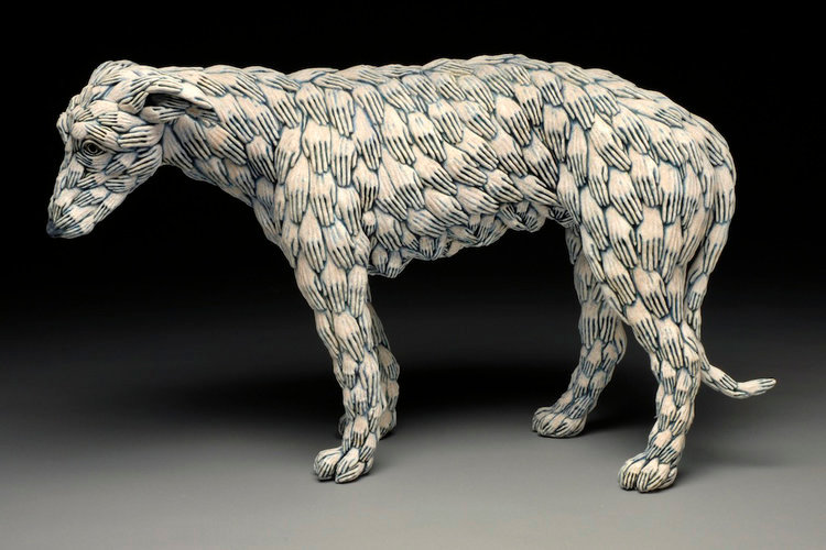 Dog With Hands by Adrian Areleo