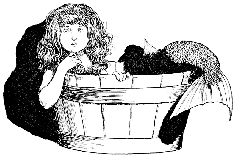 The Little Mermaid by William Heath Robinson