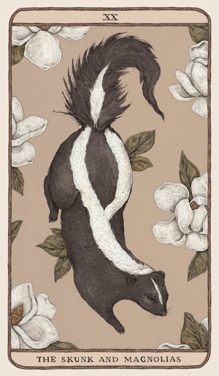 The Skunk and the Magnolias by Jessica Roux
