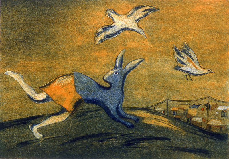 Rabbit Running by Kathi Thamo