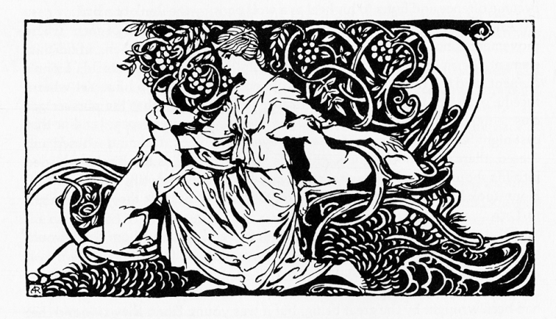 From Irish Fairy Tales illustrated by Arthur Rackham