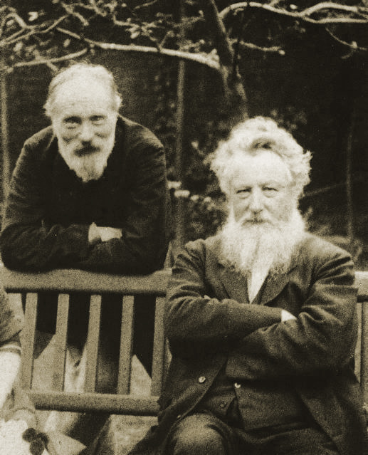 Edward Burne-Jones and William Morris