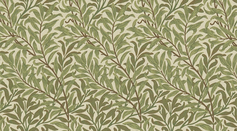 Willow design by William Morris