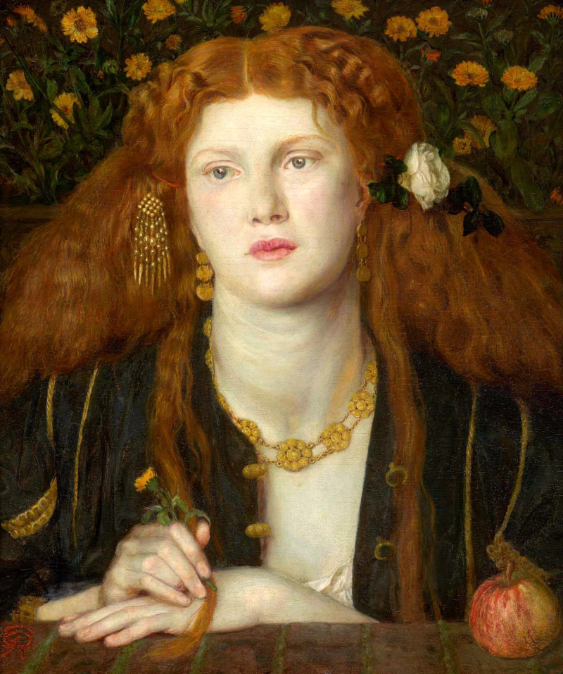 Bocca Baciata by Dante Gabriel Rossetti.