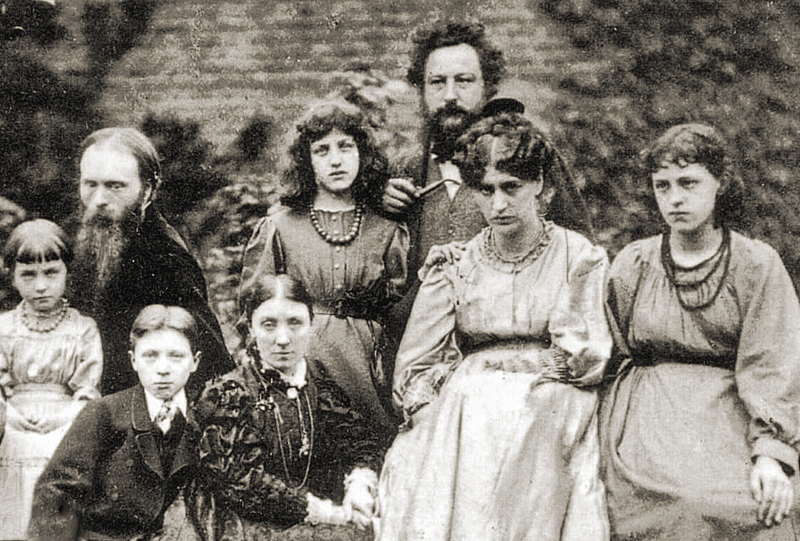 Edward Burne-Jones  William Morris  and their families