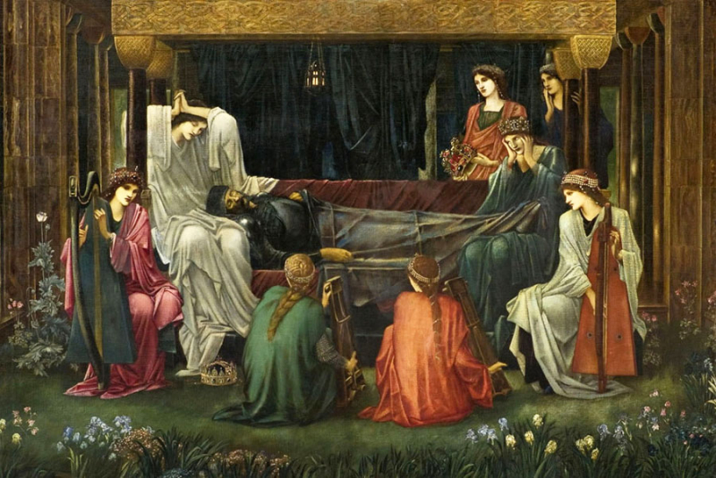 The Last Sleep of Arthur in Avalon by Sir Edward Burne-Jones
