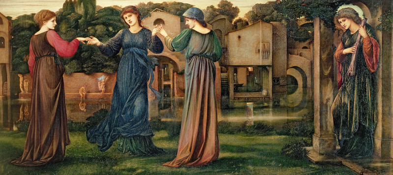 The Mill by Sir Edward Burne-Jones