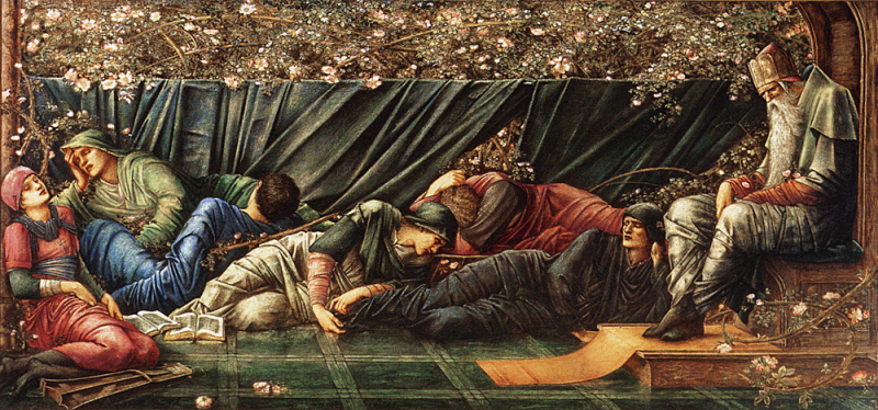 Briar Rose by Sir Edward Burne-Jones