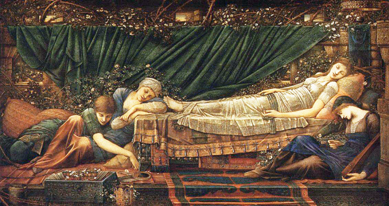 Briar Rose by Sir Edward Burne Jones