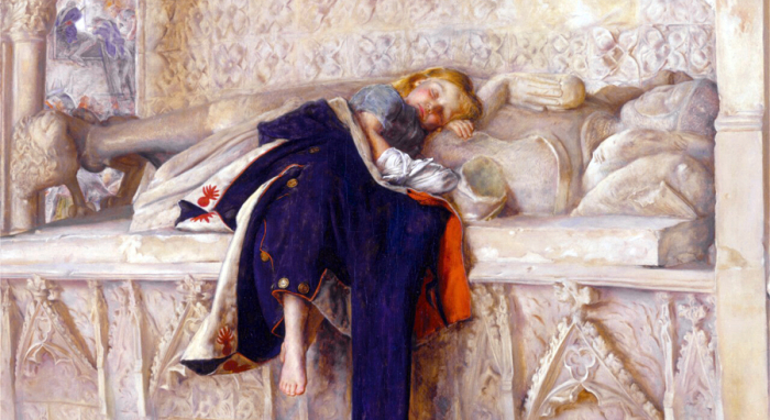 The Child of the Regiment by Pre-Raphaelite painted Sir John Everett Millais