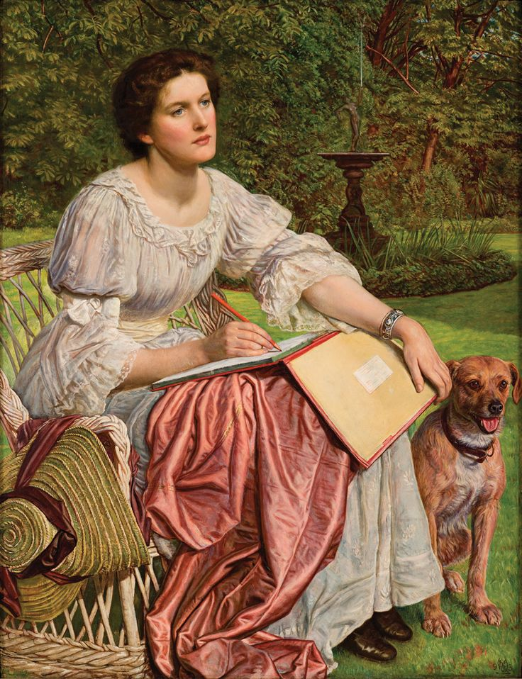 Gladys Holman Hunt by William Holman Hunt