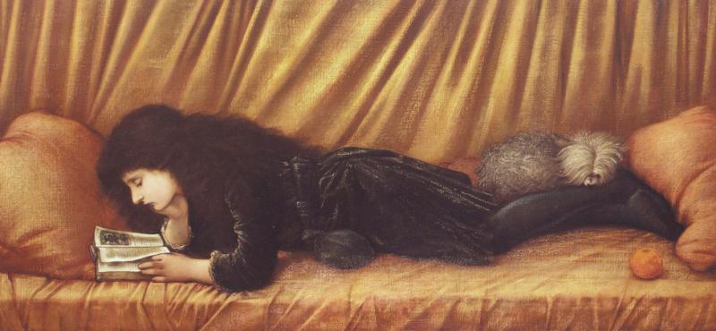 Portrait of Katie Lewis by Edward Burne-Jones