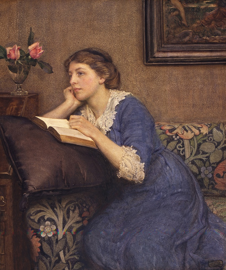 Portrait of Winfred Robers by Eleanor Fortescue Brickdale